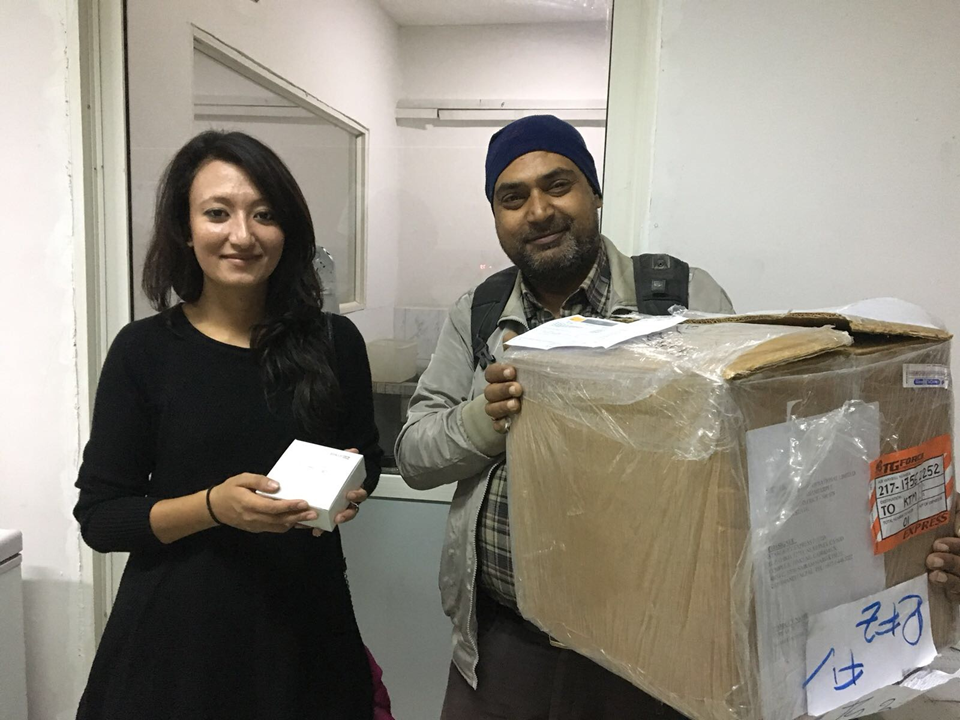Despite several last minute delays, the vaccines arrived safely in Nepal on November 19th, 2017. The trial began the next day.