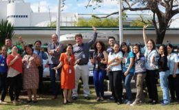CGPS and RITM researchers helped establish genomic surveillance capacity for tracking drug resistance in the Philippines. Photo: Silvia Argimon