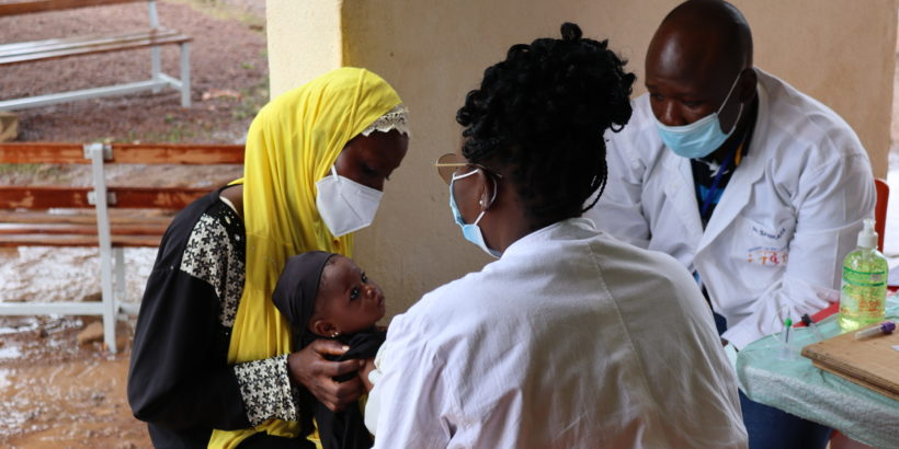 TCV co-administered with routine immunizations at 9-months