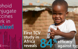 Typhoid conjugate vaccines work in Malawi: First TCV study in Africa reveals 84% efficacy