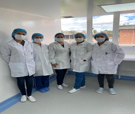 Photo: Enteric Pathogens Reference Laboratory Group, Microbiology Group, Instituto Nacional de Salud, Bogotá, Colombia.